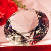 diamond cut crystal diamond gift nice wedding gift