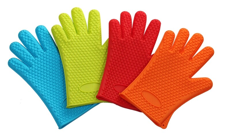 Silicone Oven Glove Heat Resistant Gloves Bbq Grill