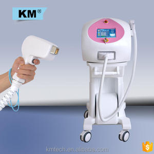 Pain free salon equipment 12 germany bars 808 diode laser home hair removal machine