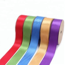 Wholesale Custom Multi Color 25mm 1 Inch 100% Polyester Double Face Satin Ribbon