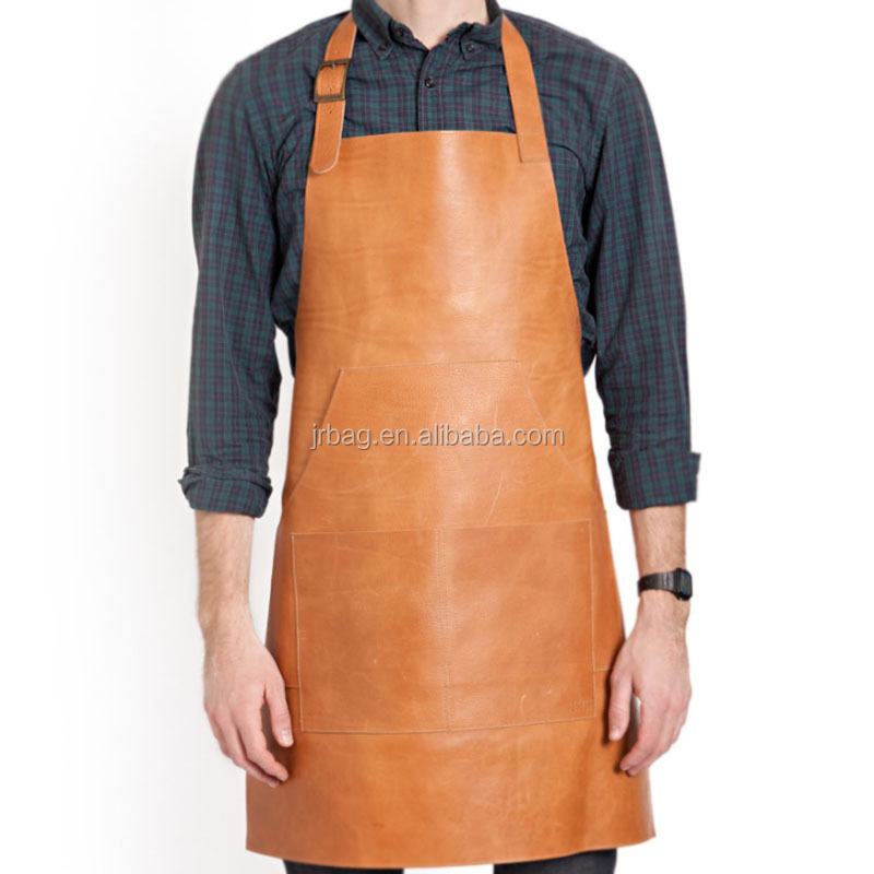 Waterproof Durable Leather Work Aprons For Sale