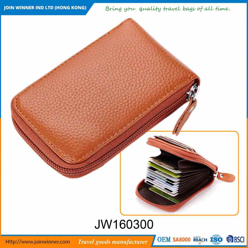Recyclable Titanium Credit Card Holder Colorful