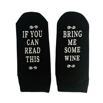 If You Can Read This Bring Me Socks - Beer, Wine, Bacon, Taco, Tea - Funny Novelty Socks - Men & Women