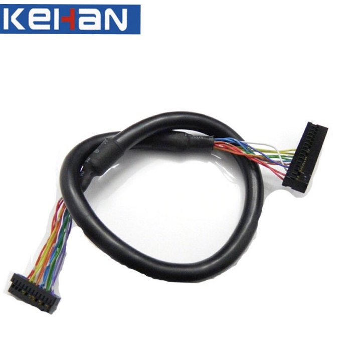 OEM RoHS Compliant 30 Pin to 40 Pin Connector LCD Cable/LVDS Cable Assembly