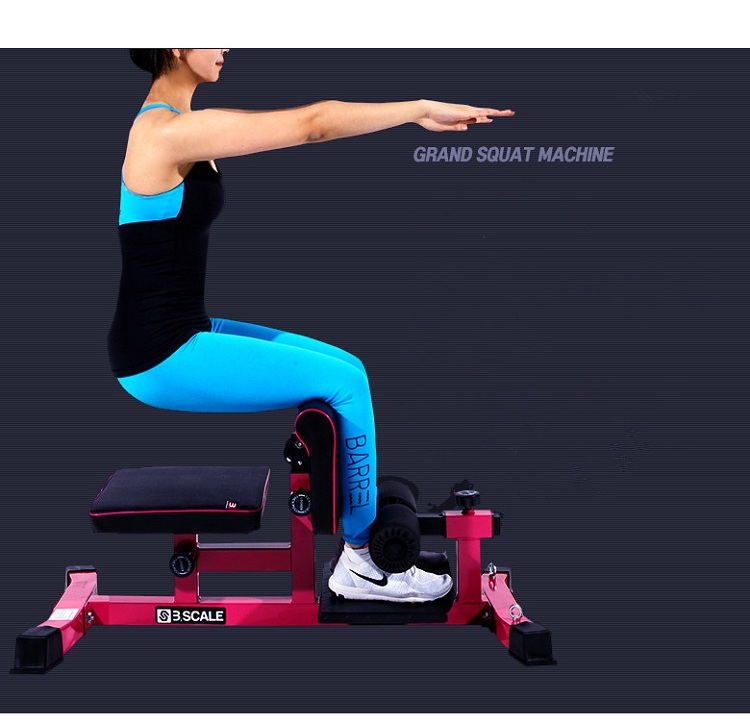 Best selling strength conditioning equipment sissy squat stand squats machine