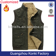 Custom Promotional Canvas Hunting Vest