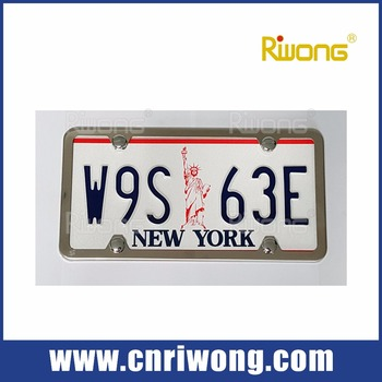 Stainless Steel Car Number Plate Covers - Buy Number Plate Covers ...