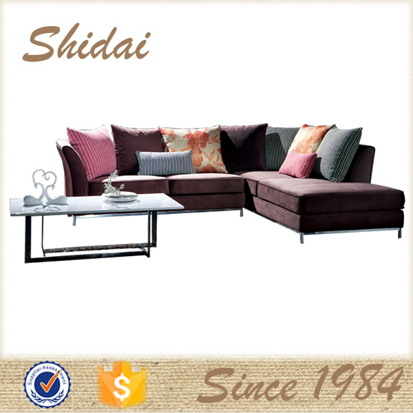 bamboo sofa set, semi-circle sofa sets, modern pink sofa set G175B