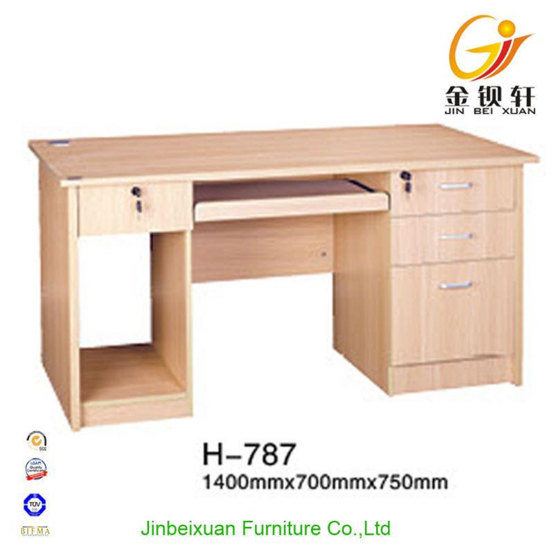moderne étude de bureau à domicile Table avec tiroirs-Table ...