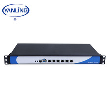 1U Rack Mount Server 4G Gsm <span class=keywords><strong>Router</strong></span> Intel 3855U CPU Gateway Mini Supporto del PC AES-NI Secureity Apparecchio