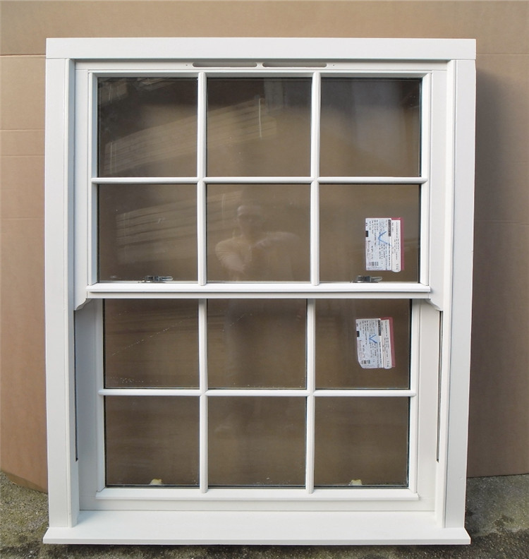 Cheap house windows for sale aluminum double hung window
