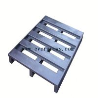 Heavy duty customized stackable cheap steel pallet for storage