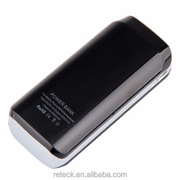 Creative portable power bank with display Mobile power bank for iphone5 samsung ipad mp4 mp3