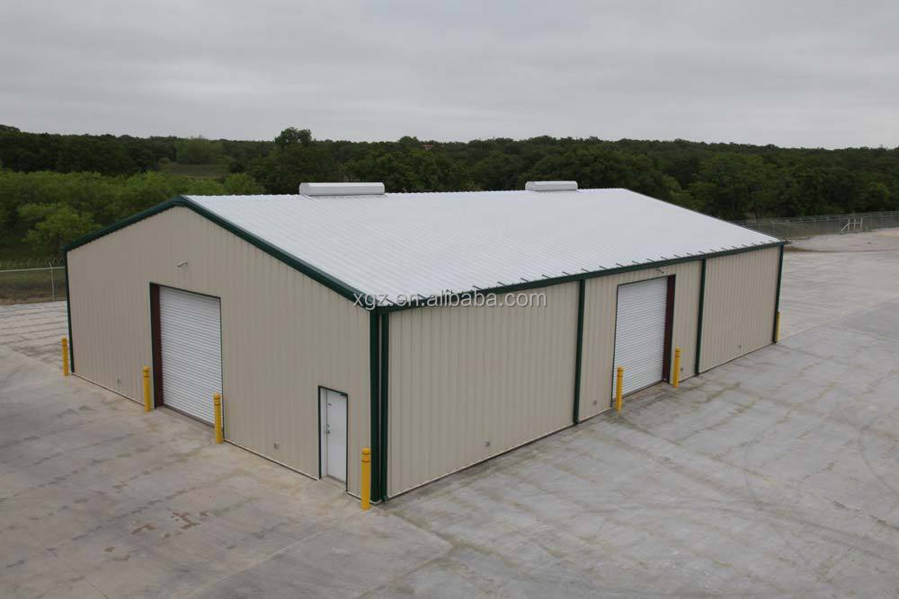 Prefabricated steel frame self storage warehouse