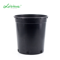 Plastic 20 gallon 4 gallon seedling nursery pots for seeds