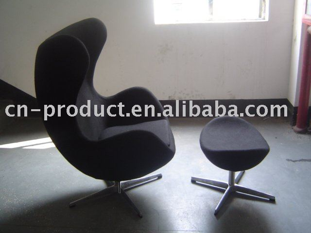 Egg Chair With Ottoman, Egg Chair With Ottoman Suppliers And Manufacturers  At Alibaba.com