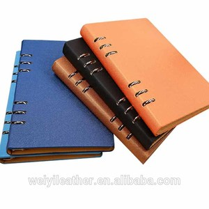 New Arrival Leather Ring Binder A5 Hardcover Notebook