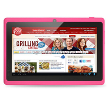 "7 ""Tablet PC Android 4,4 de <span class=keywords><strong>Google</strong></span> A33 Quad-Core 1G 16GB Bluetooth WiFi Flash Tablet PC Quad Core Q88 Tab 3G externo 7 8 <span class=keywords><strong>9</strong></span>"