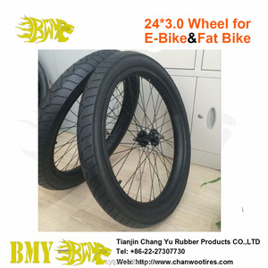 Hot selling high quality bicycle fat wheel 24*3.0