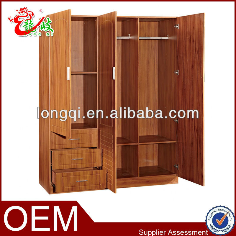 Cabinet Design For Clothes High Quality Cheap Modern Design Mdf Bedroom Furniture Storage