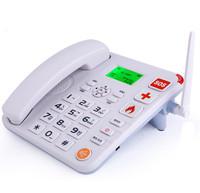 Desk sim card LCD display wireless gsm telephone