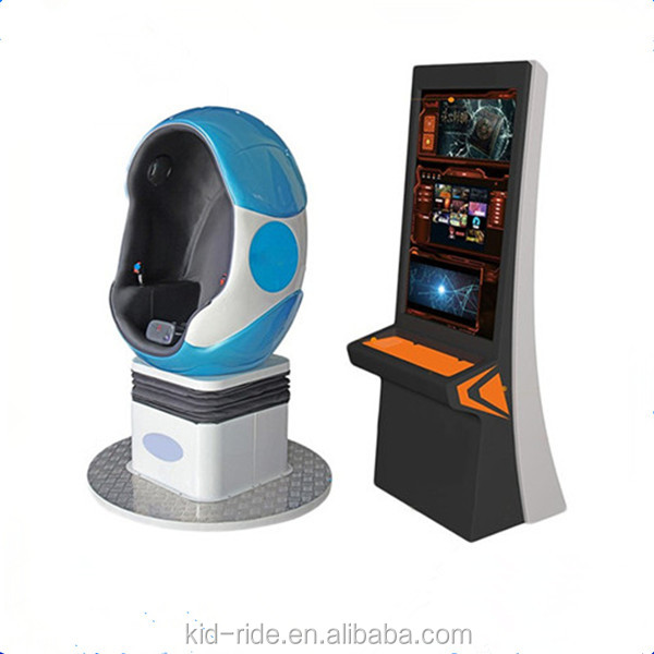 2018 Amazing Product Cinema VR 1 seat 9D Game Machine Project / 9D Virtual Reality Cinema / 9D VR Eggs