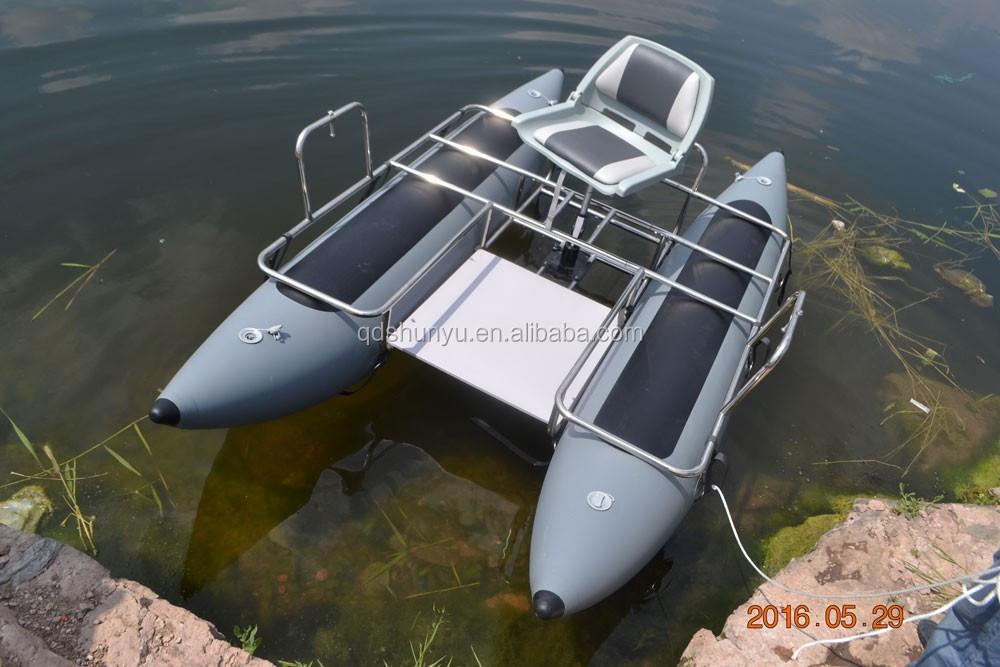 best seller gonflable de ponton de p che avec moteur lectrique buy bateau ponton bateau. Black Bedroom Furniture Sets. Home Design Ideas