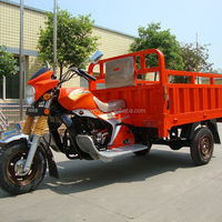 Closed 110cc three wheel cargo tricycle for sale