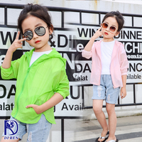 Excellent business wholesale girls sunscreen clothing set