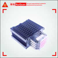 New product of HeatSink with 4 pcs heatpipe,customized designs are welcome