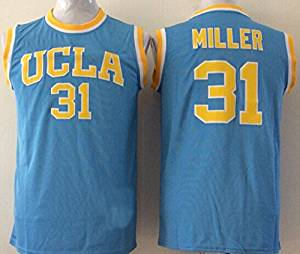 brand new 42098 18bf2 Buy Mens UCLA Bruins NO.31 MILLER Basketball Jersey NCAA ...