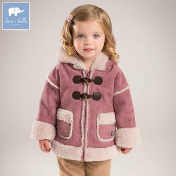 cfe7bd67c9d3 DB5471 dave bella winter infant baby girl lovely Jackets toddler ...