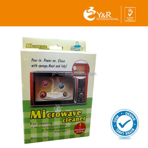 Vinegar easy chemical free steam microwave oven cleaner