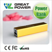 Newest promotional power bank with build in usb cable