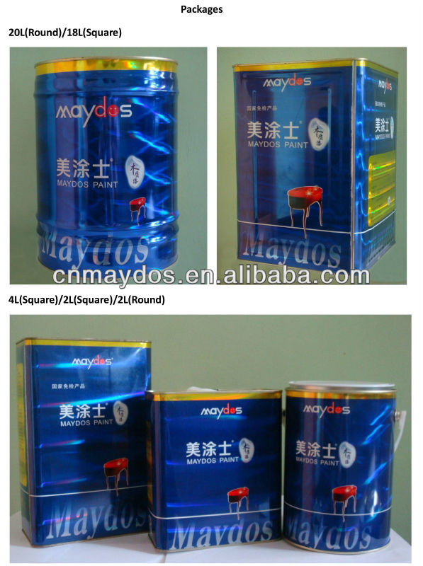 Alkyd Enamel Paint for Anti-Rust Coating and Protection
