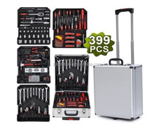 399pcs tool set case mechanics kit box, auto mechanic tools,case aluminium tool