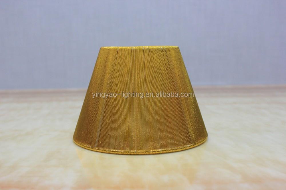 moderne demi rond clip sur ampoule d 39 or fil de soie table abat jour pour la maison en gros buy. Black Bedroom Furniture Sets. Home Design Ideas