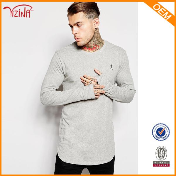 Men Longline T Shirt/ Elongated T Shirt Wholesale/oversized Bulk ...