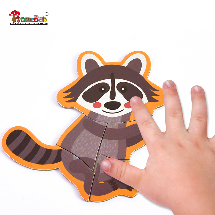 2018 New Promotional custom jigsaw puzzle for children paper puzzle diy toy