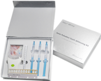 Luxury CE & FDA Approved Laser Teeth Bleaching System Home Teeth Whitening Kit Private Logo