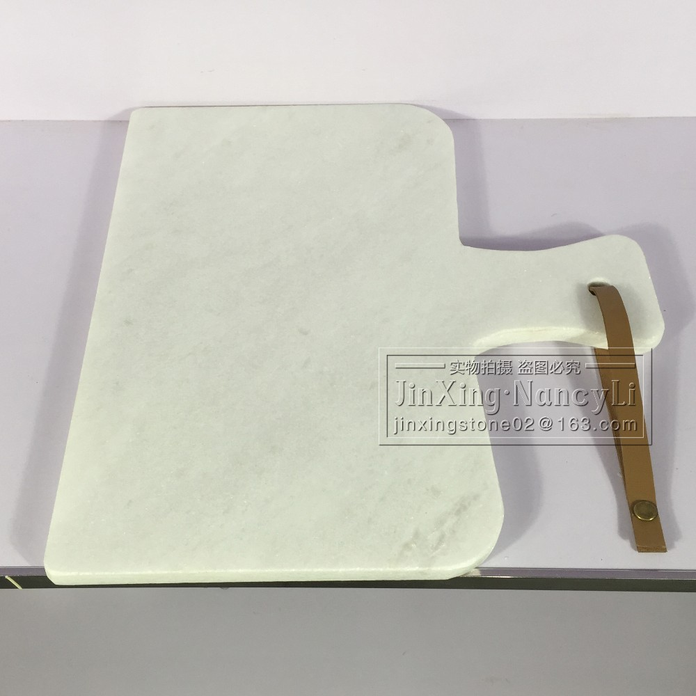 white marble chee<strong>ss</strong> board marble kitchen platter natural stone