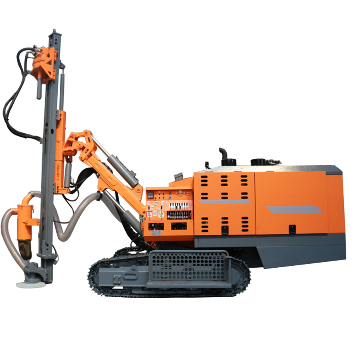 21m 90-138mm Integrated All In One crawler portable Down The Hole Jumbo Geotechnical Tunnel DTH
