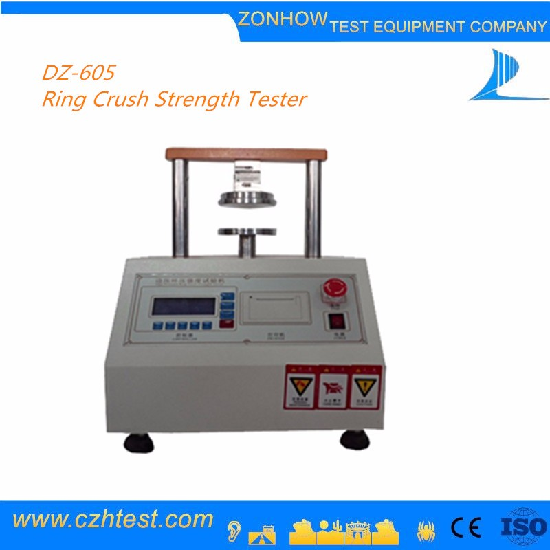 2017 new design ring crush strength tester with competitive price