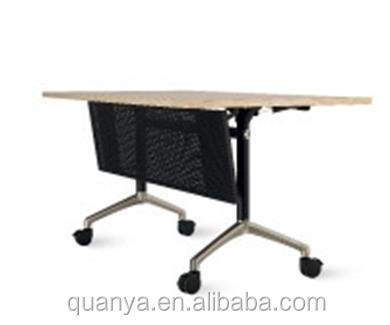 Beweegbare kantoor opleiding tafel traing school tafel castor