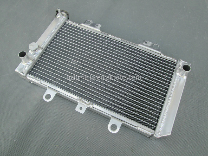 ALUMINUM RADIATOR FOR YAMAHA ATV QUAD GRIZZLY 660 YFM660F YFM66F 4x4 2002-2008