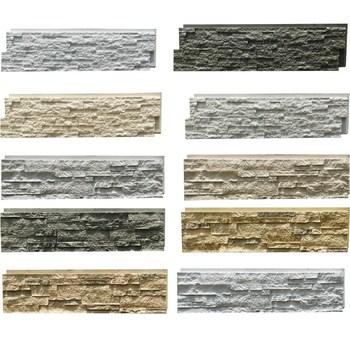Artificial Stone Type Polyurethane Pu Faux Exterior Wall Siding Panel