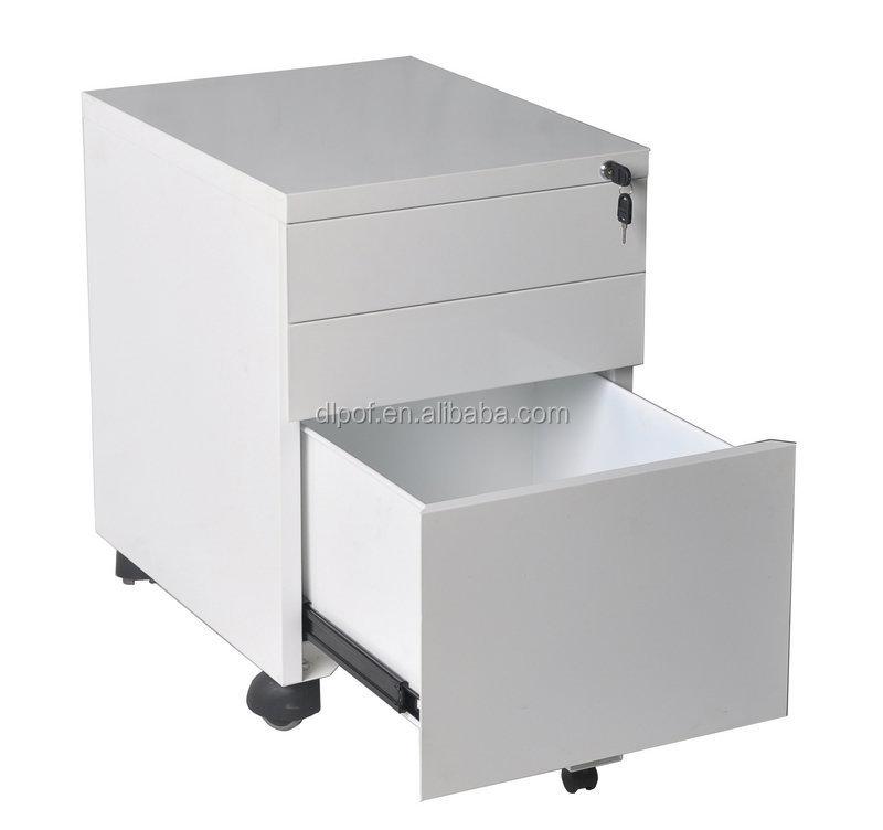 3 Drawer Vertical File Cabinet/mobile Filing Cabinet/3 Drawers ...