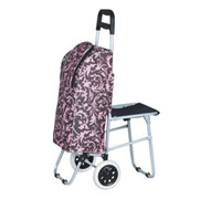 reusable shopping bag/2015 Top Sale Light Aluminum Trolley Bag Europe Design Sturdy Wheels