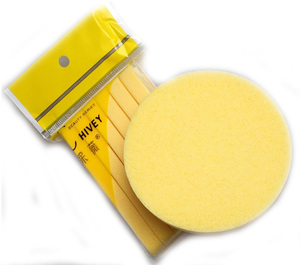 Hot Selling Disposable Compressed PVA Facial Makeup Cleansing Sponge
