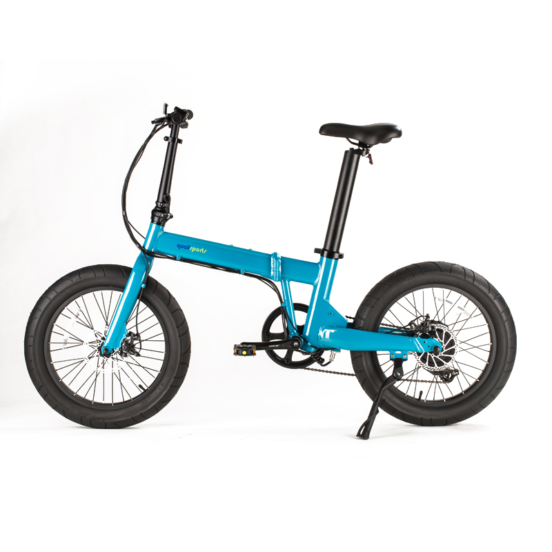 2018 20 inch mini fat tire ebike <strong>folding</strong> with al-alloy frame